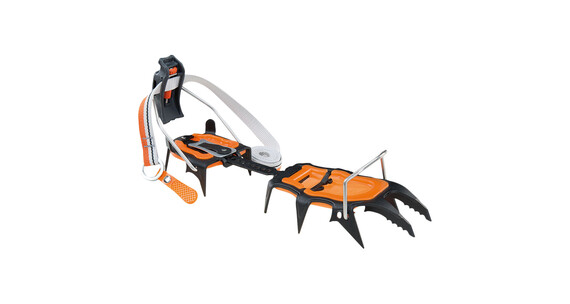 Climbing Technology Lycan automatic Crampons orange/sort